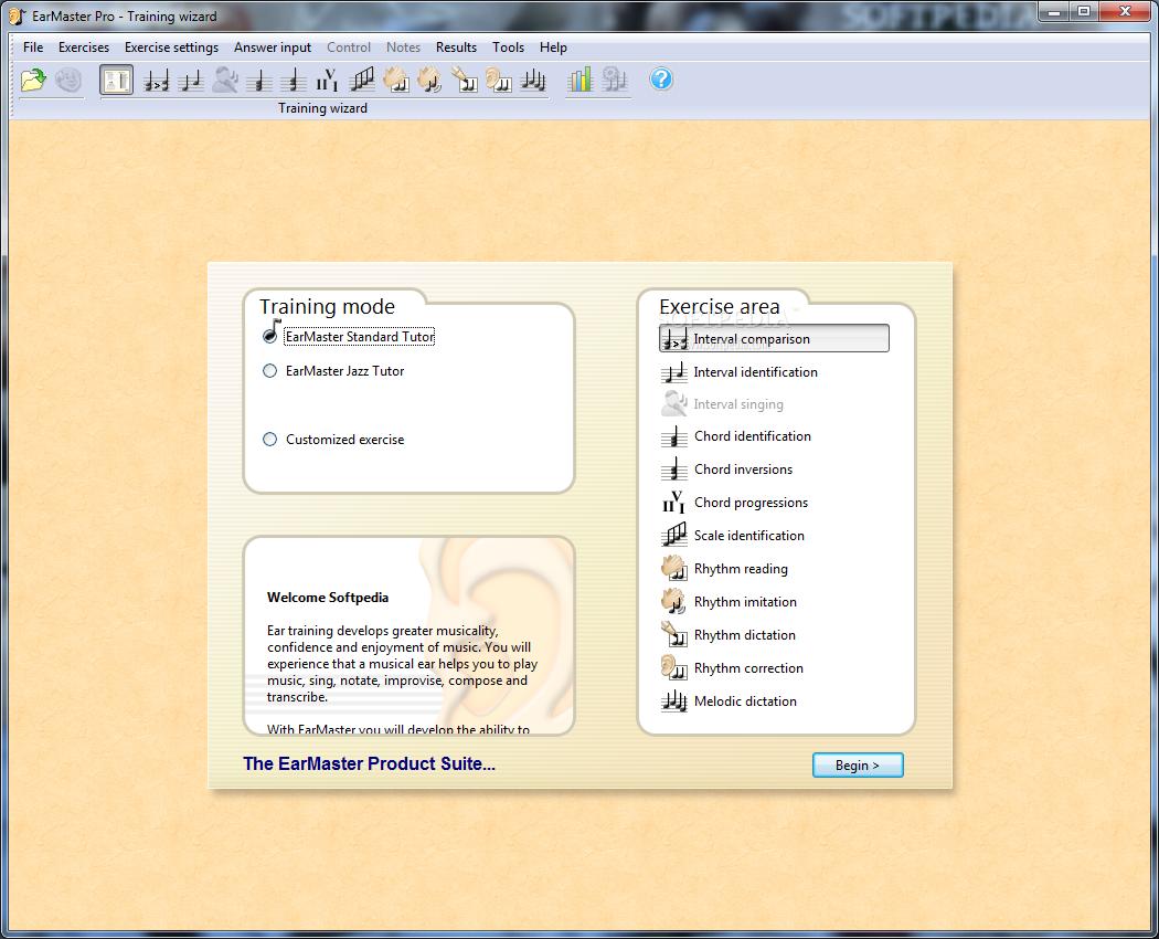 screenshot.EarMaster.2 نرم افزار آموزش از طریق شنوایی EarMaster Pro 6 1 Build 624PW