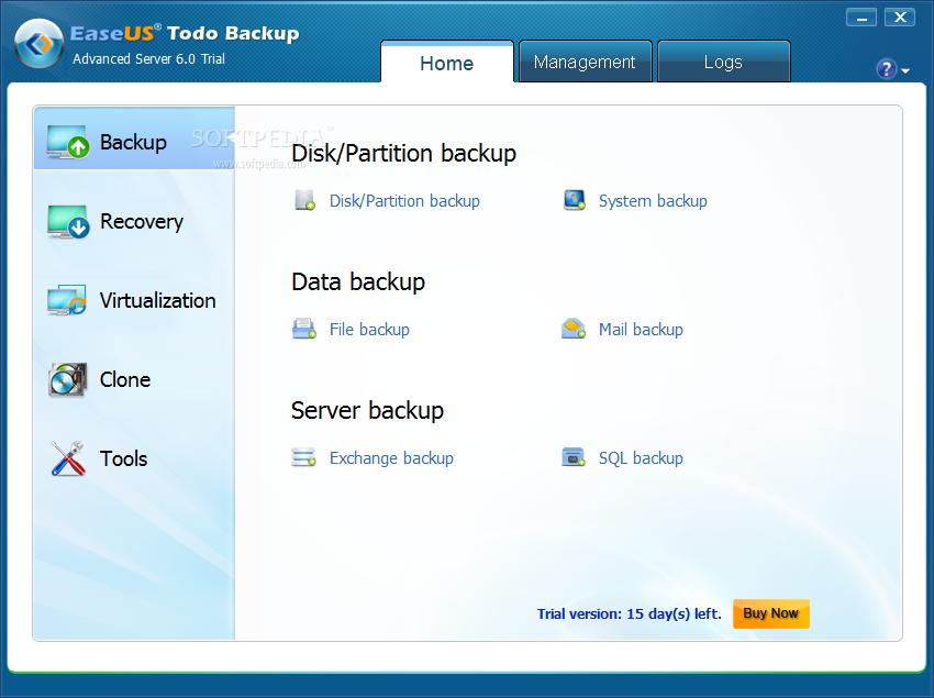 screenshot.EaseUS.Todo .Backup.Advanced.Server 3 نرم افزار بک آپ گرفتن از سرور EaseUS Todo Backup Advanced Server 6 1