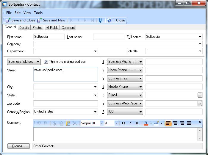 screenshot.EfficientPIM 3 نرم افزار مدیریت اطلاعات EfficientPIM Pro 3 70 Build 359