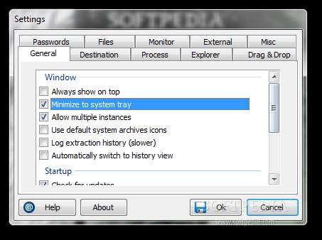 screenshot.ExtractNow 2 نرم افزار استخراج فایل های فشرده ExtractNow 4 8 2 0