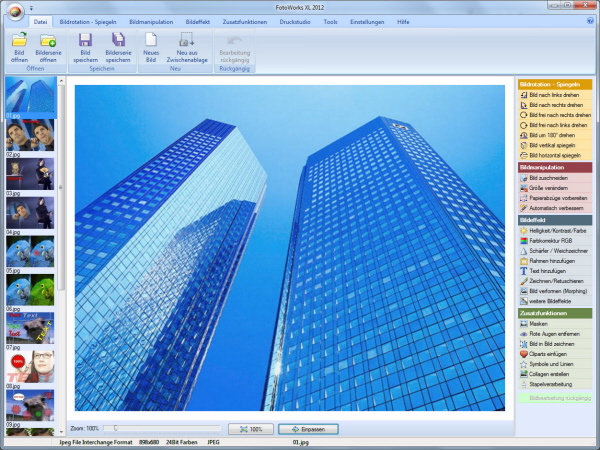 screenshot.FotoWorks.XL1  نرم افزار ویرایش عکس FotoWorks XL 2014 14 0 1