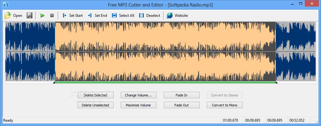 screenshot.Free .MP3.Cutter.and .Editor دانلود Free MP3 Cutter and Editor 2.6.0.2590 نرم افزار ویرایش فایل ام پی تری