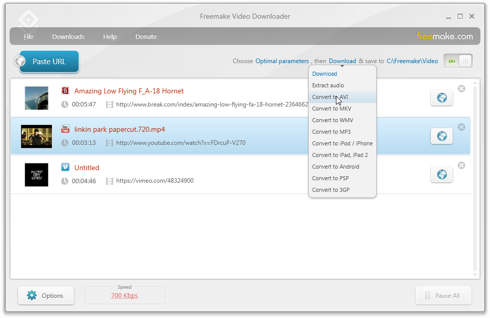 screenshot.Freemake.Video .Downloader 2 دانلود Freemake Video Downloader 3.7.0.5 نرم افزار دریافت ویدیوهای آنلاین