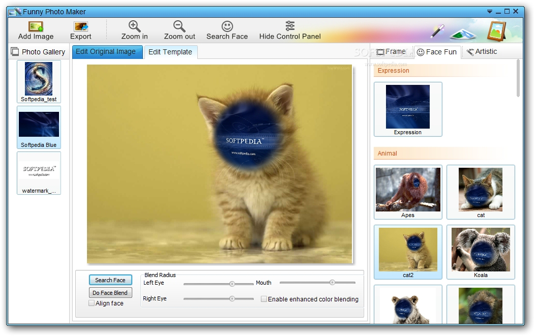 screenshot.Funny .Photo .Maker 1 نرم افزار طراحی تصاویر زیبا و فانتزی Funny Photo Maker 2 42 Final
