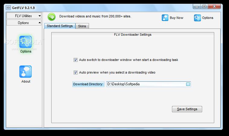 screenshot.GetFLV.Pro 1 نرم افزار دانلود فایل تصویری FLV از اینترنت GetFLV Pro 9 6 2 3