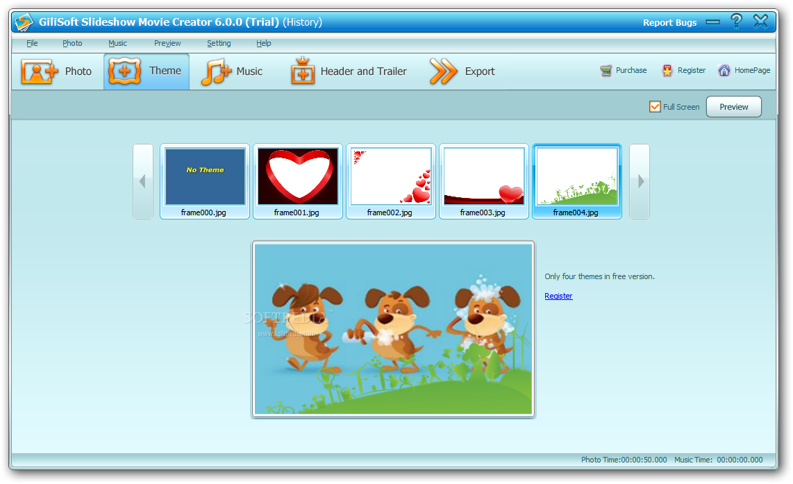 screenshot.GiliSoft.Slideshow.Movie .Creator 2 دانلود نرم افزار ساخت اسلایدشو GiliSoft SlideShow Movie Creator