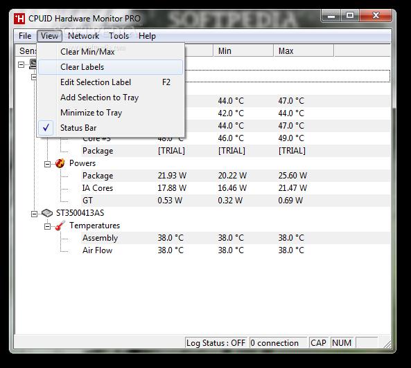 screenshot.HWMonitor 2 نرم افزار نمایش اطلاعات سیستم HWMonitor 1 25