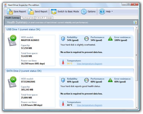 screenshot.Hard .Drive .Inspector.Pro 1 نرم افزار مدیریت هارد دیسک Hard Drive Inspector Pro 4 24 Build 202