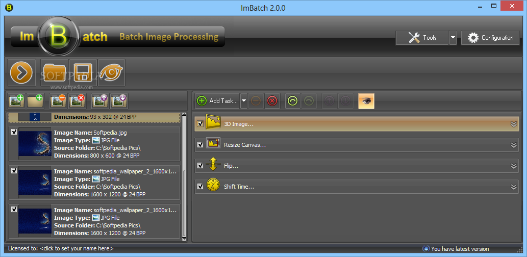 screenshot.ImBatch 1 نرم افزار ویرایش تصاویر ImBatch 2 5 0