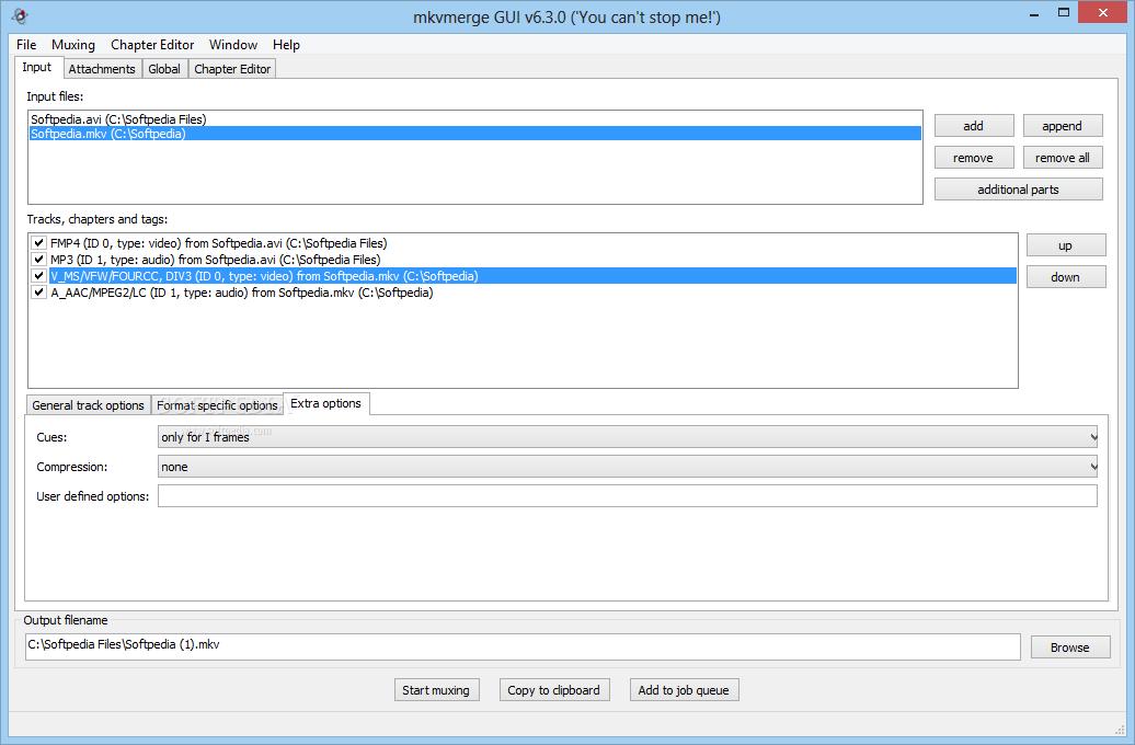 screenshot.MKVToolnix 1 نرم افزار ترکیب و ادغام  صدا و زیرنویس با یکدیگر MKVToolnix 6 9 0 Final