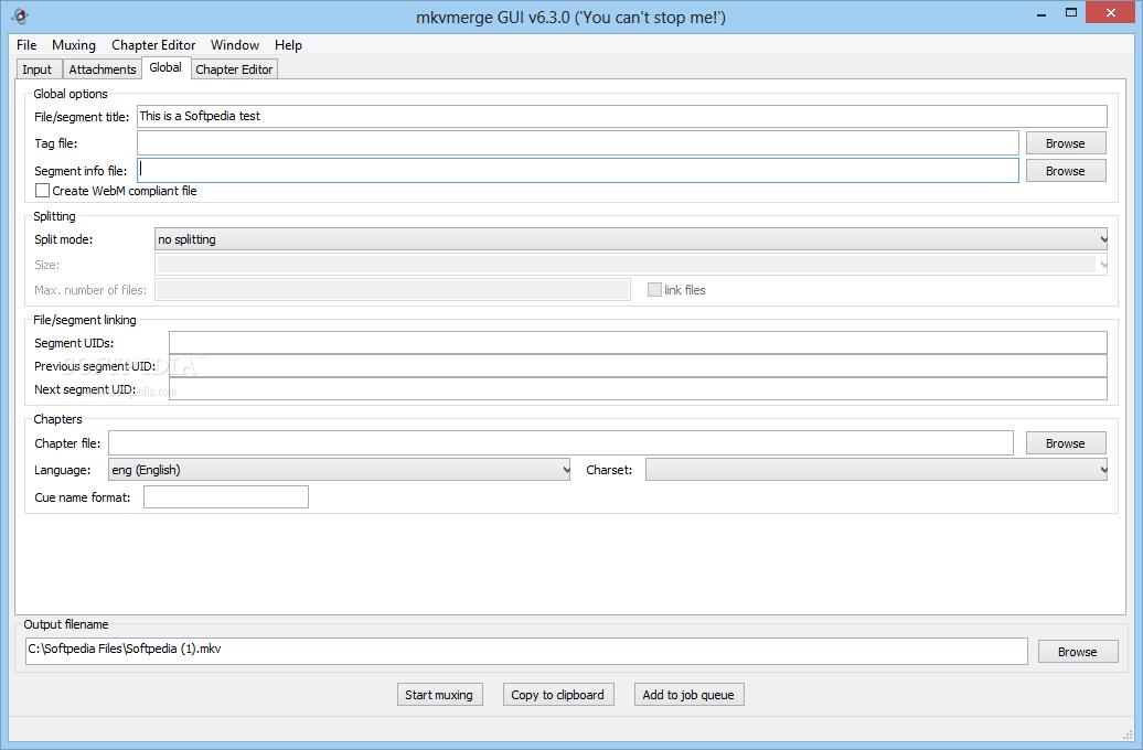screenshot.MKVToolnix 2 نرم افزار ترکیب و ادغام  صدا و زیرنویس با یکدیگر MKVToolnix 6 9 0 Final