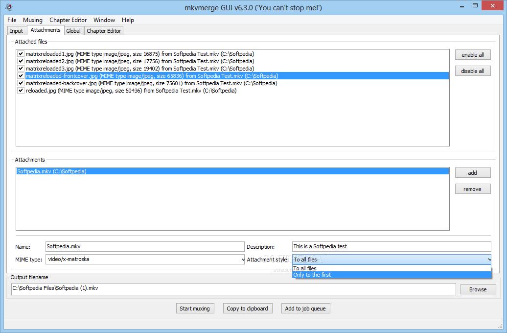 screenshot.MKVToolnix 3 نرم افزار ترکیب و ادغام  صدا و زیرنویس با یکدیگر MKVToolnix 6 9 0 Final