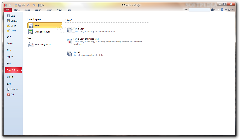 screenshot.Mindjet.MindManager نرم افزار سازماندهی مطالب و مدیریت پروژه ها Mindjet MindManager 14 2 321