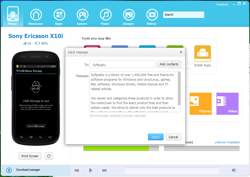 screenshot.Mobogenie 1 نرم افزار مدیریت گوشی اندروید Mobogenie 2 2 3 21