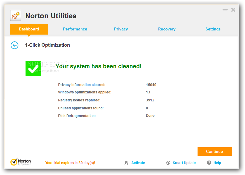 screenshot.Norton.Utilities 1 دانلود نرم افزار برای بهینه سازی سرعت کامپیوتر Norton Utilities 16.0.2.39