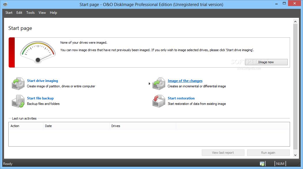 screenshot.O.O.DiskImage.1 تهیه نسخه پشتیبان از پارتیشن ها O&O DiskImage Professional 8 5 15