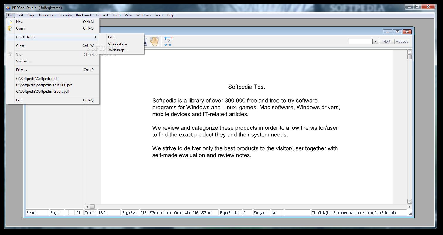 screenshot.PDFCool.Studio 2 نرم افزار مدیریت اسناد پی دی اف PDFCool Studio 3 84 Build 140328