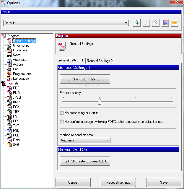 screenshot.PDFCreator 1 نرم افزار ایجاد فایل های پی دی اف PDFCreator 1 7 3 Final