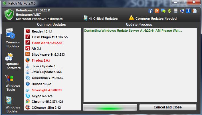 screenshot.Patch .My .PC 3 اطلاع از نسخه جدید نرم افزارها Patch My PC 2.4.0.0 + Portable