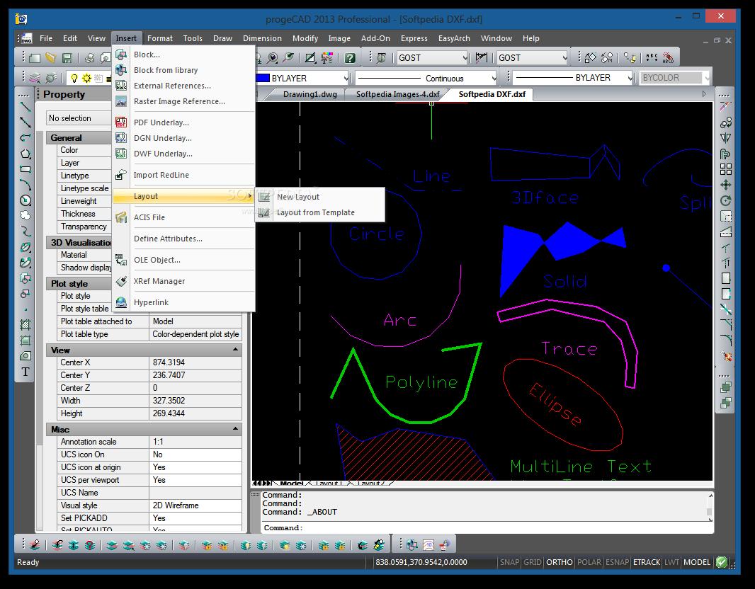 screenshot.ProgeCAD 3 نرم افزار نقشه کشی ProgeCAD 2014 Professional 14 0 6 15