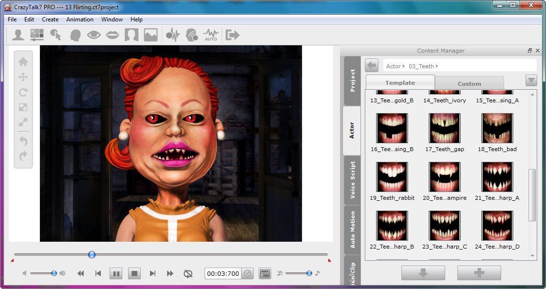 screenshot.Reallusion.CrazyTalk.PRO 4 نرم افزار جان بخشی به تصاویر Reallusion CrazyTalk PRO 7 3 2215 1 Retail