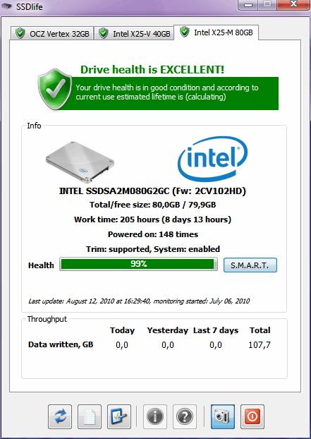 screenshot.SSDLife 2 بررسی سلامتی هارد دیسک  SSDLife Pro v2 5 67