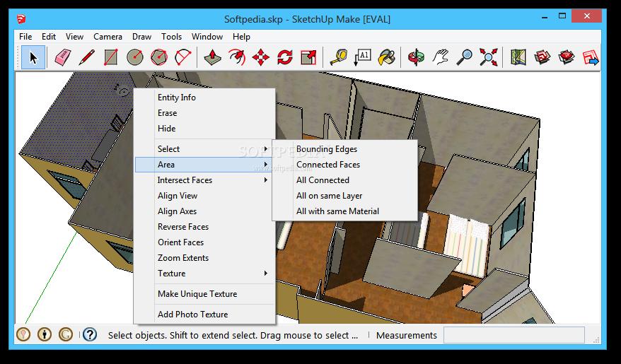 screenshot.SketchUp.Pro 1 نرم افزار طراحی مدل های 3 بعدی SketchUp Pro 2014 14 0 4900
