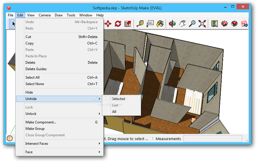 screenshot.SketchUp.Pro 2 نرم افزار طراحی مدل های 3 بعدی SketchUp Pro 2014 14 0 4900