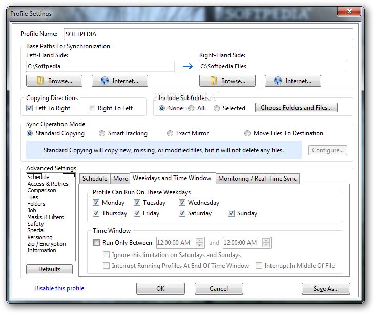 screenshot.Syncovery 2 نرم افزار هماهنگ سازی فایل ها Syncovery v6 55 Build 197