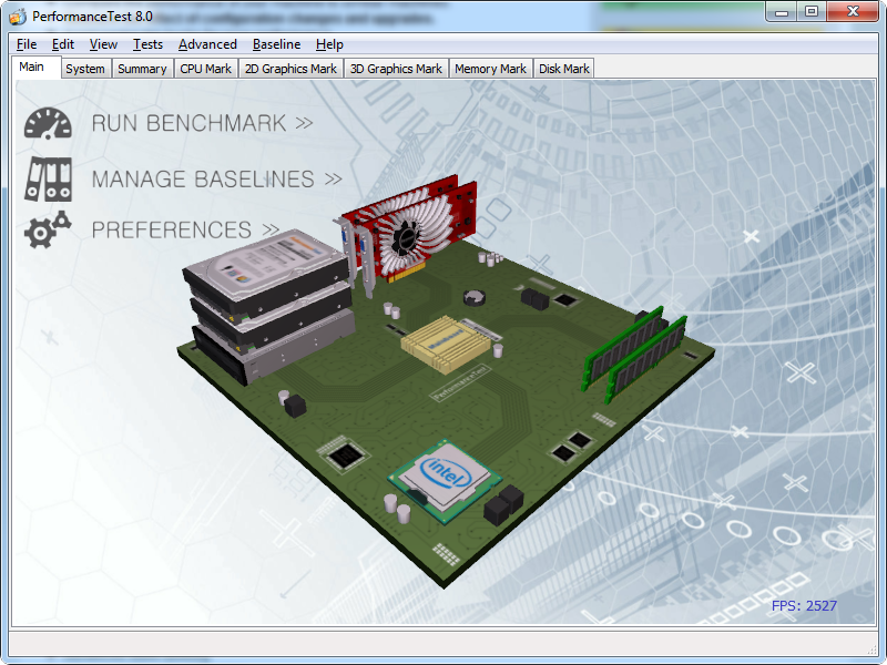 screenshot.SystemTools.Hyena 1 نرم افزار نمایش اطلاعات سخت افزار کامپیوتر Passmark PerformanceTest 8 0 Build 1031