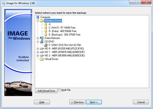 screenshot.TeraByte Unlimited Image For Windows 1 نرم افزار پشتیبان گیری از اطلاعات TeraByte Unlimited Image For Windows 2 89 Retail