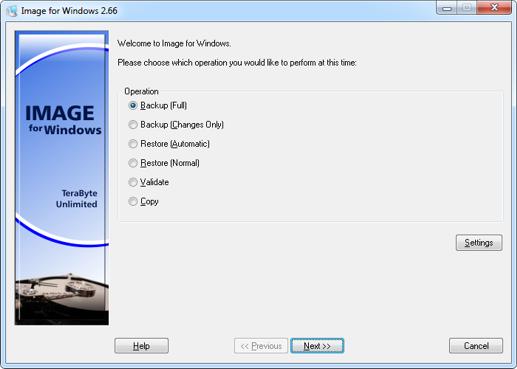 screenshot.TeraByte Unlimited Image For Windows 2 نرم افزار پشتیبان گیری از اطلاعات TeraByte Unlimited Image For Windows 2 89 Retail