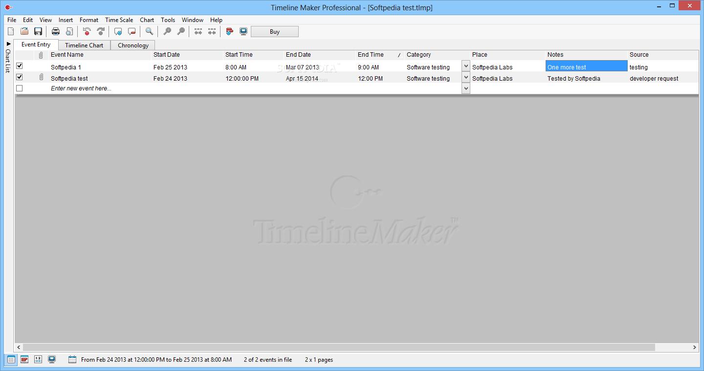 screenshot.Timeline Maker Professional 1 نرم افزار ساخت جدول زمانی Timeline Maker Professional 2 6 41 14