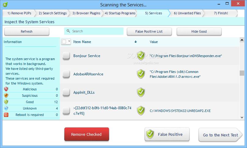 screenshot.UnHackMe 1 نرم افزار ضد هک UnHackMe 7 10 Build 434