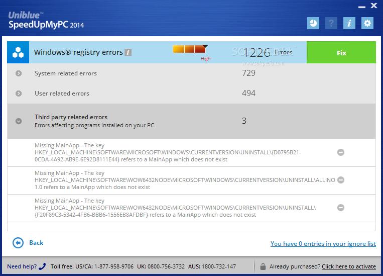screenshot.Uniblue.SpeedUpMyPC 2 نرم افزار بهینه سازی سرعت ویندوز Uniblue SpeedUpMyPC 2014 6 0 2 0