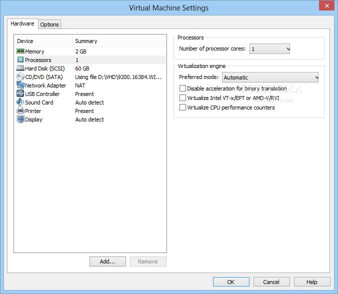 screenshot.VMware.Player 3 نرم افزار مجازی ساز VMware Player 6 0 2 Build 1744117 Final