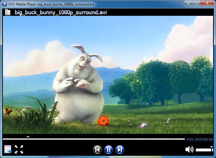 screenshot.VSO .Media .Player 1 پلیر فایل های صوتی و تصویری VSO Media Player 1 4 2 482