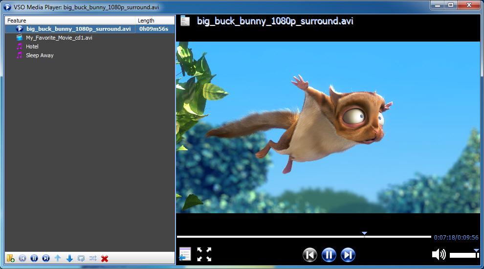 screenshot.VSO .Media .Player 2 پلیر فایل های صوتی و تصویری VSO Media Player 1 4 2 482