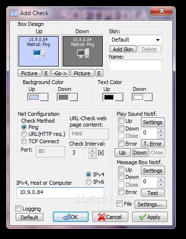 screenshot.Veronisoft.IP .Net .Checker 2 دانلود Veronisoft IP Net Checker 1.5.9.1 نرم افزار نظارت بر شبکه