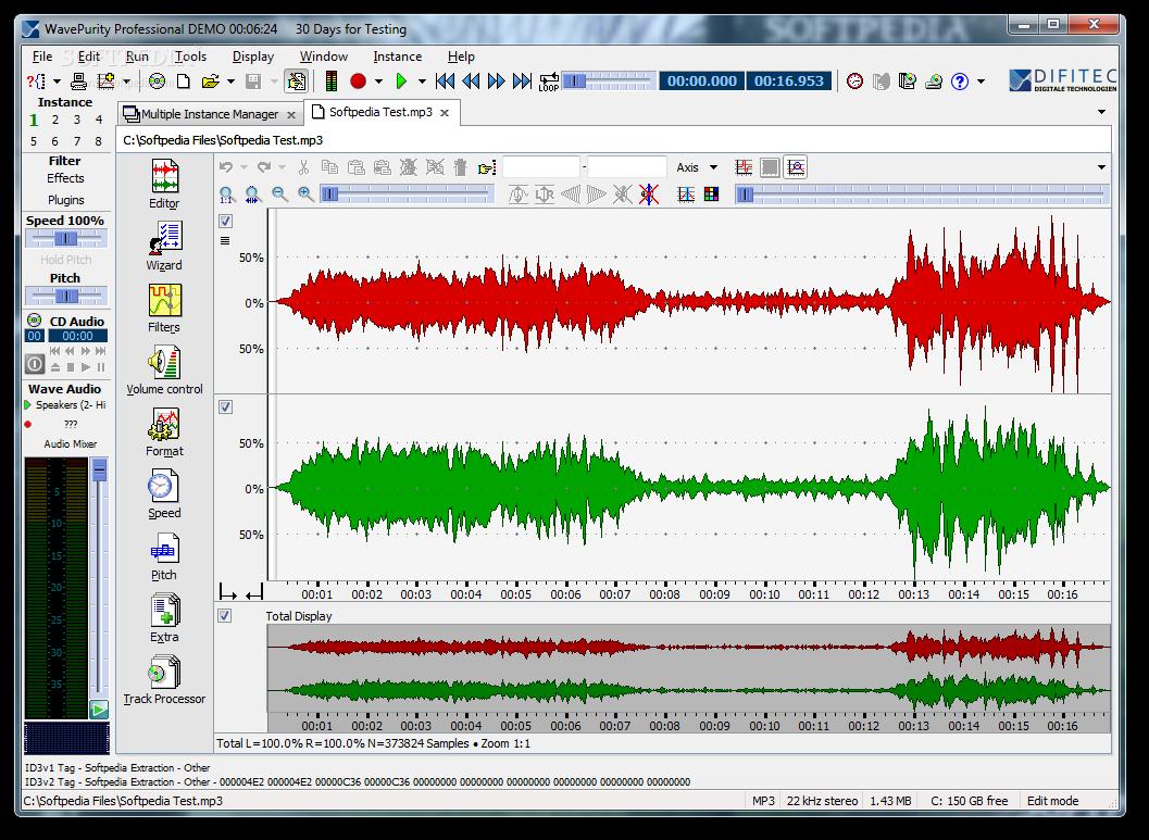 screenshot.WavePurity نرم افزار بازسازی آهنگ ها WavePurity Professional 7 61