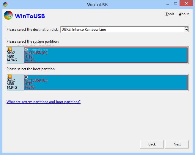 screenshot.WinToUSB 1 دانلود WinToUSB 1.5 Final نصب ویندوز قابل حمل در حافظه یو اس بی