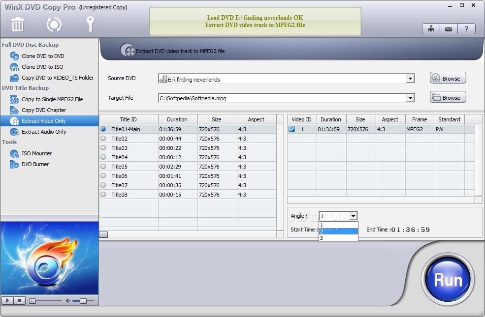 screenshot.WinX .DVD .Copy .Pro .2 نرم افزار کپی دی وی دی WinX DVD Copy Pro 3 6 2