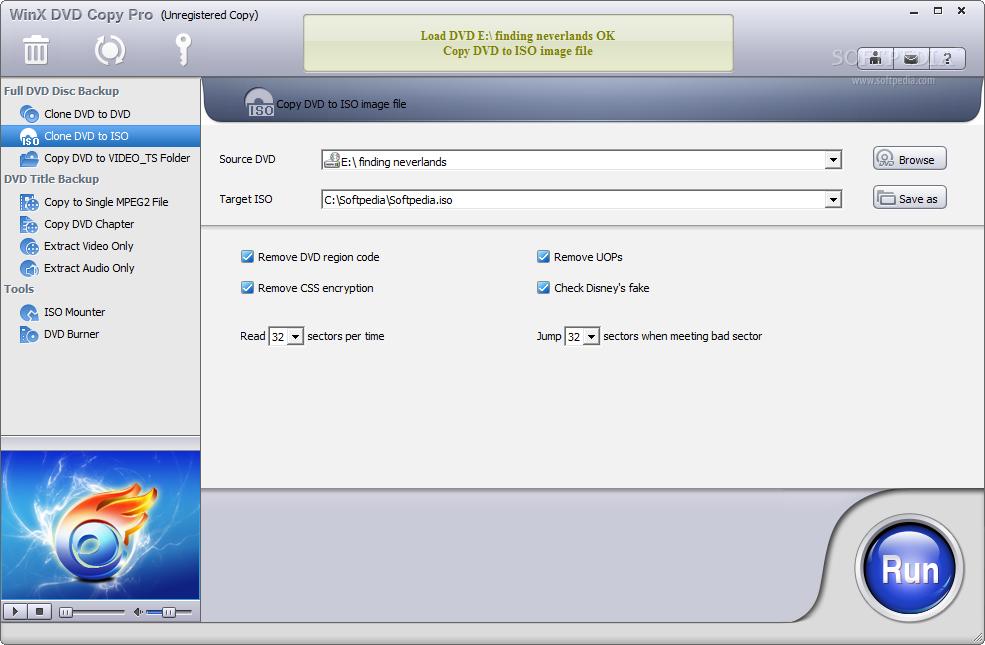 screenshot.WinX .DVD .Copy .Pro .3 نرم افزار کپی دی وی دی WinX DVD Copy Pro 3 6 2