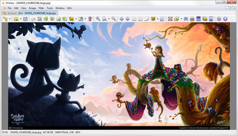 screenshot.XnView 3 نرم افزار مدیریت عکس XnView 2 20