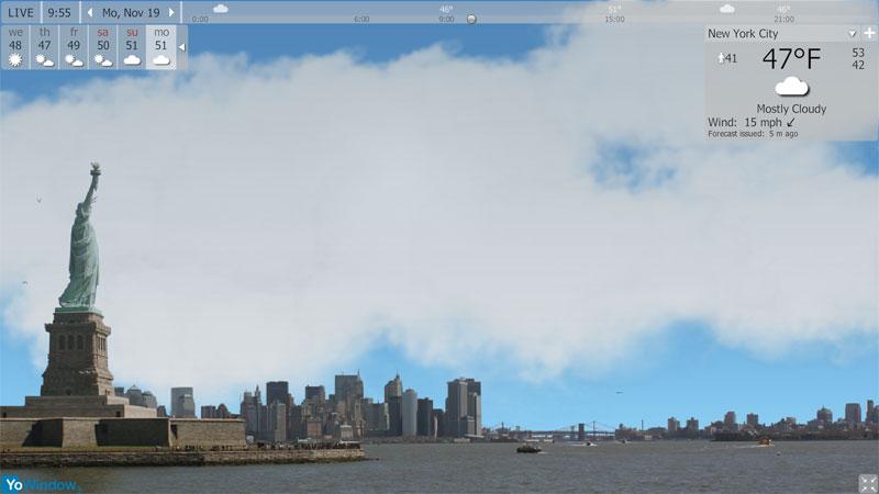 screenshot.YoWindow.Unlimited.Edition 5 دانلود نرم افزار دیدن کردن و نمایش اوضاع آب و همچنین هوا YoWindow