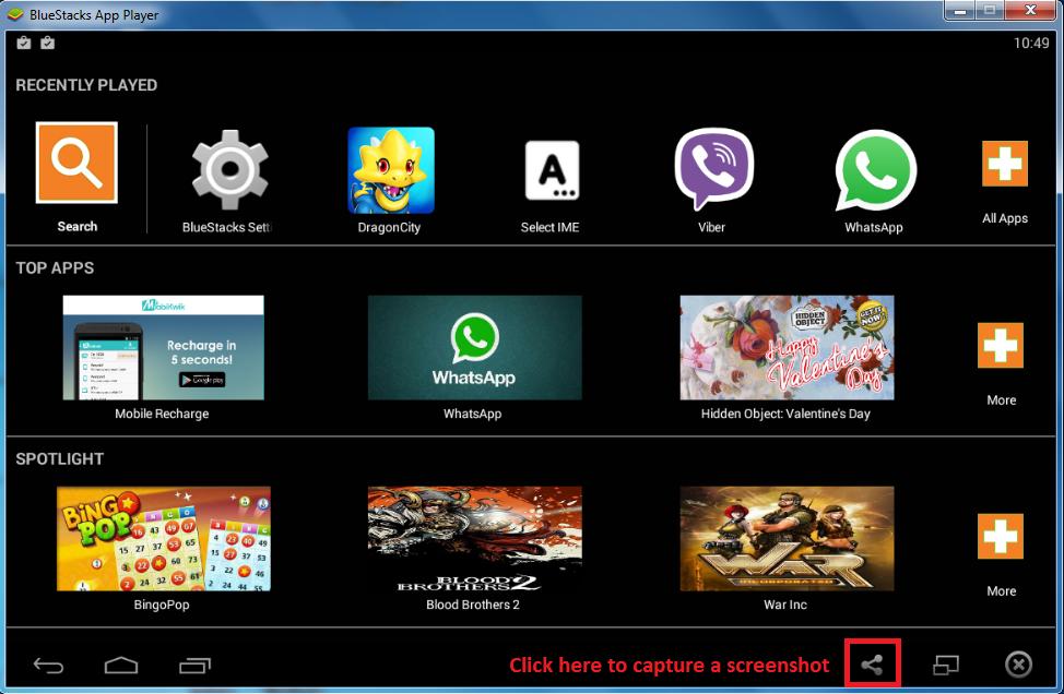 screenshot دانلود نرم افزار اجرای برنامه آندروید بر روی ویندوز BlueStacks 2.5.61.6289