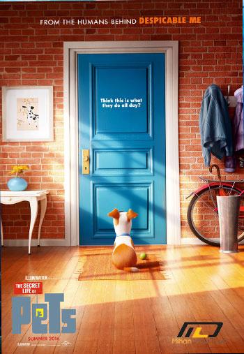 secret pets دانلود انیمیشن اسرار زندگی حیوانات خانگی  ۲۰۱۶ The Secret Life of Pets