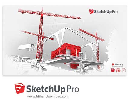 sketchup pro 2017 دانلود SketchUp نرم افزار طراحی سه بعدی صنعتی