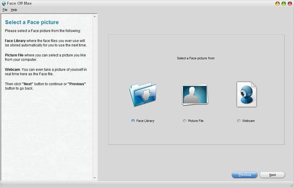 smallscreenshot 3 دانلود Face Off Max 3.6.3.8 نرم افزار تغییر چهره افراد