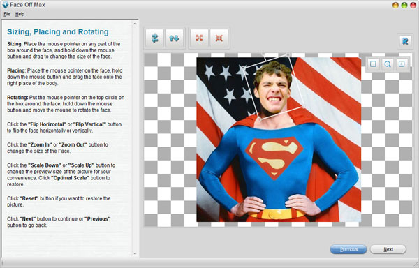 smallscreenshot 7 دانلود Face Off Max 3.6.5.2 نرم افزار تغییر چهره افراد